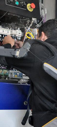 Exosquelette de manutention bras en hauteur - GOBIO