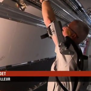 Exosquelette France 2 reportage GOBIO