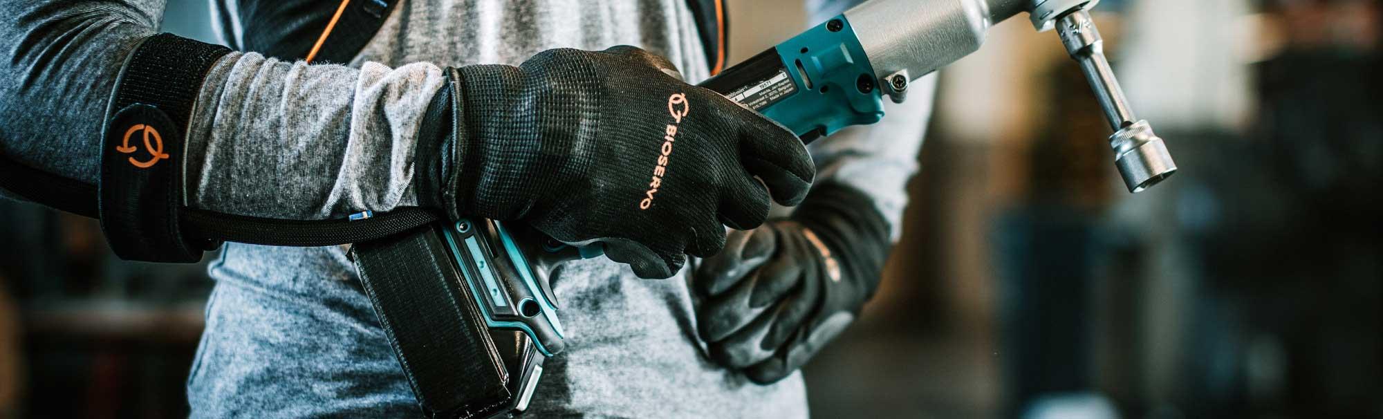 Ironhand® - gant bionique de manutention