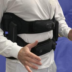 Exosquelette soulagement des douleurs lombaires - Unité de restauration collective - GOBIO